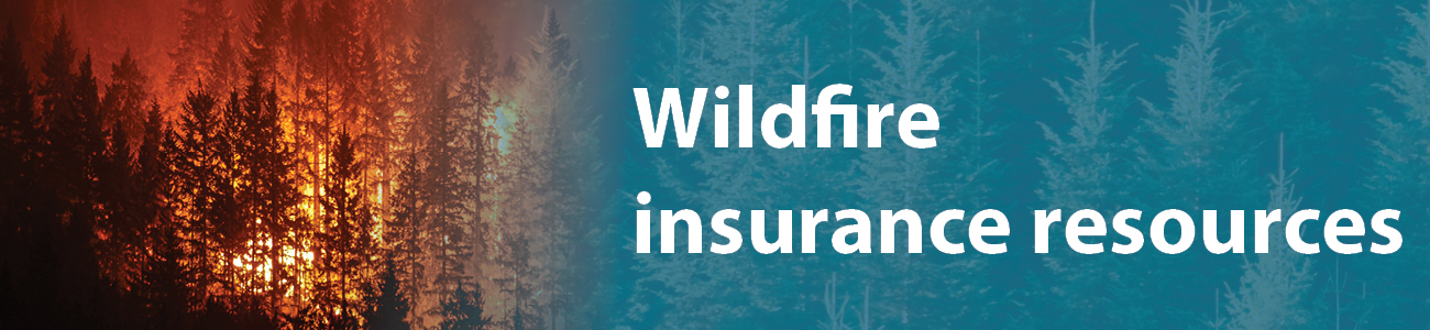 Wildfire insurance resources