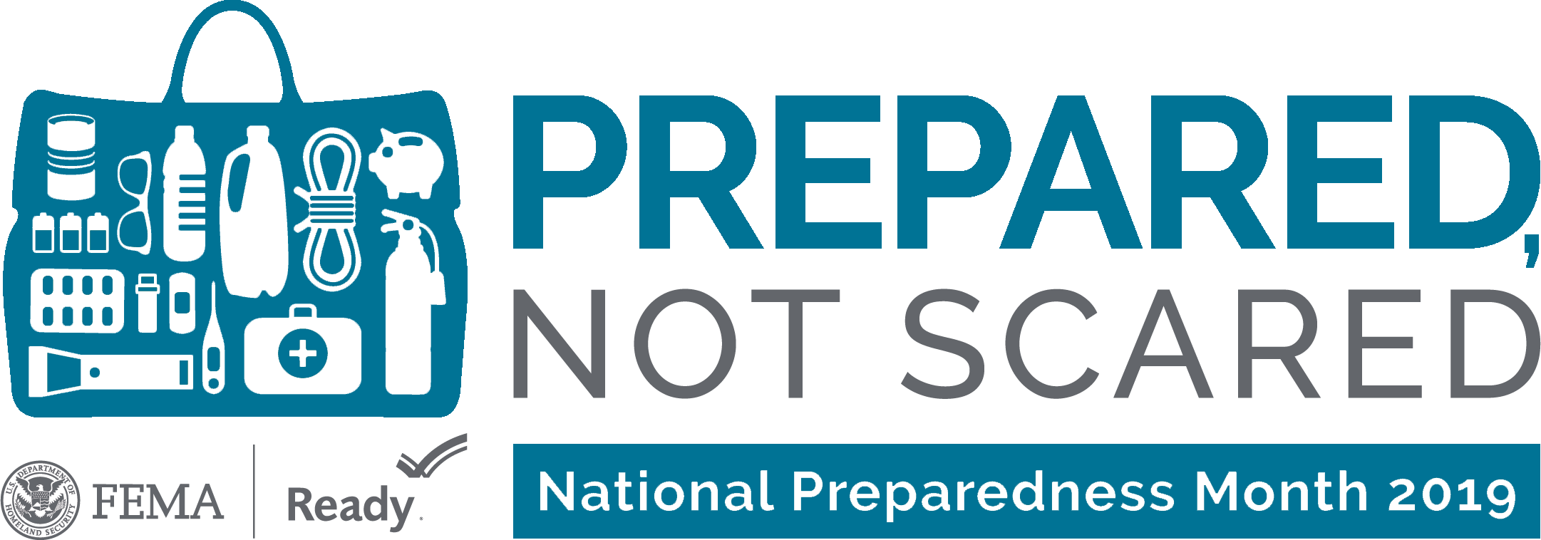Prepared not scared event banner